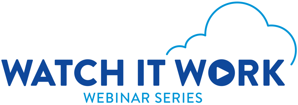 Watch It Work Webinars by Accela
