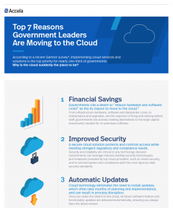 Infographic - Top 7 Reasons Leaders are Moving to the Cloud