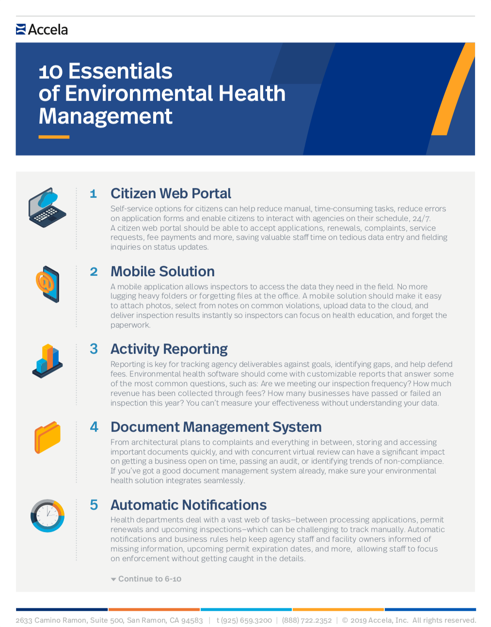 Top 10 Essentials of Environmental Health Management - Accela