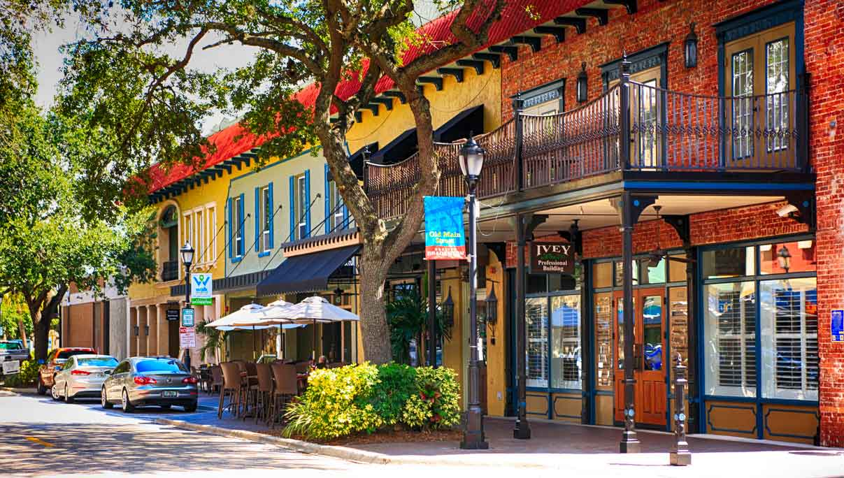 Downtown Bradenton, Florida