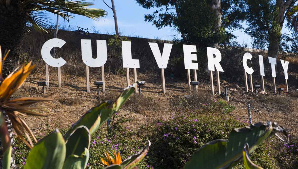 Culver City, California sign
