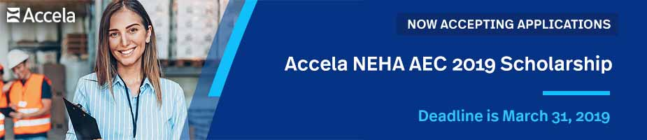 Apply for a NEHA Scholarship