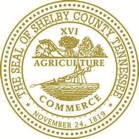 Shelby County TN, seal logo